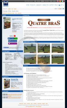 Scourge War Quatre Bras Physical With Free Download preview. Click for more details