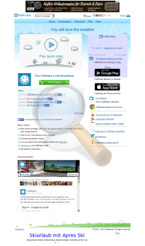 Yowindow Weather Unlimited Edition Mac preview. Click for more details
