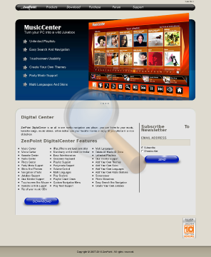Zenpoint Digitalcenter Full Version preview. Click for more details