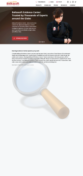 Belkasoft Forensic Analyzer Intelligence Year Support preview. Click for more details