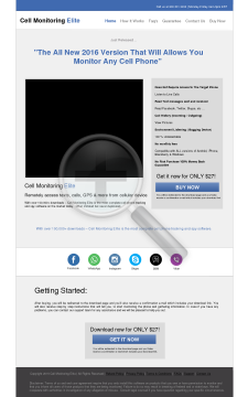 Cell Spy Software New Version Plus Free Bonuses Full You Will Forwarded Instant Download Page Immediately Upon Checkout preview. Click for more details