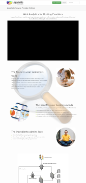 Logaholic Service Provider Edition Unlimited Client Websites preview. Click for more details