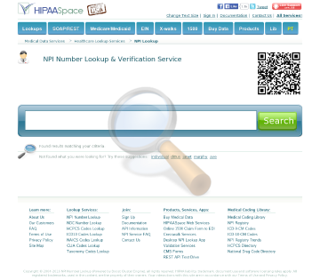 Npi Codes Custom Data Processing preview. Click for more details