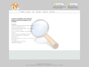 Web Buttons Single License preview. Click for more details